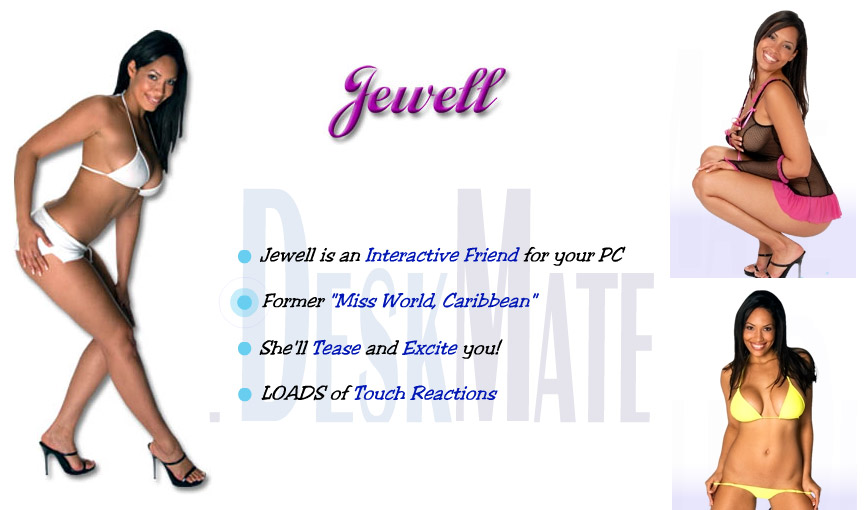 Jewell Virtual Girl DeskMate